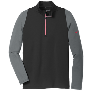Nike Golf Dri-fit Stretch 1/2 Zip Cover-up.