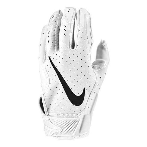 Youth Nike Vapor Jet Football Gloves.