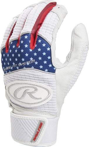 Rawlings Workhorse Adult Batting Gloves.