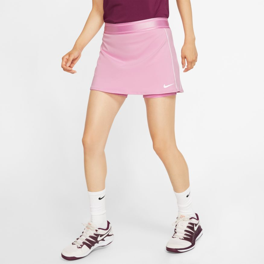 Nike Dri Fit Women S Tennis Skirt Best Pink Skirt Midway Sports Nike tennis skirt womens xs or medium authentic white nikecourt dri fit training. midway sports