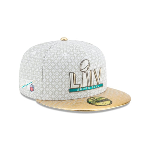 Super Bowl LIV Gold Metallic Visor 59Fifty Fitted