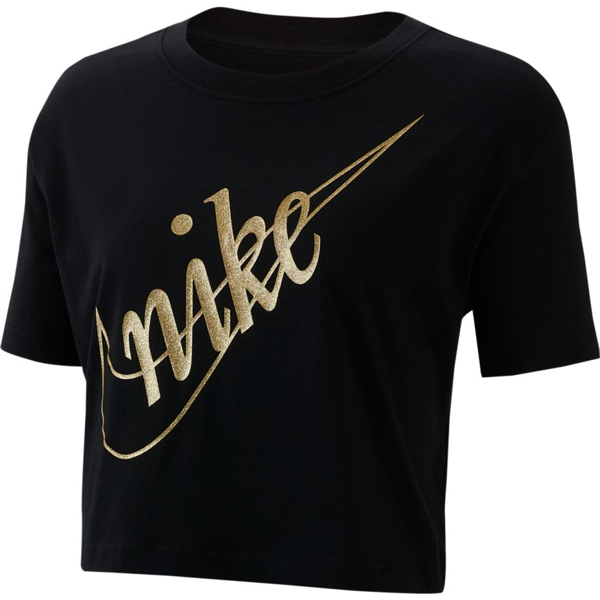 Nike Sportswear Women's Short-Sleeve Crop Top.