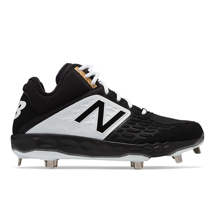 New Balance 2019 M3000BK4 Mid Metal Cleats