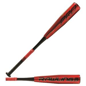 Rawlings 2020 -12 Quatro Pro USA Bat - Baseball Wood Bat