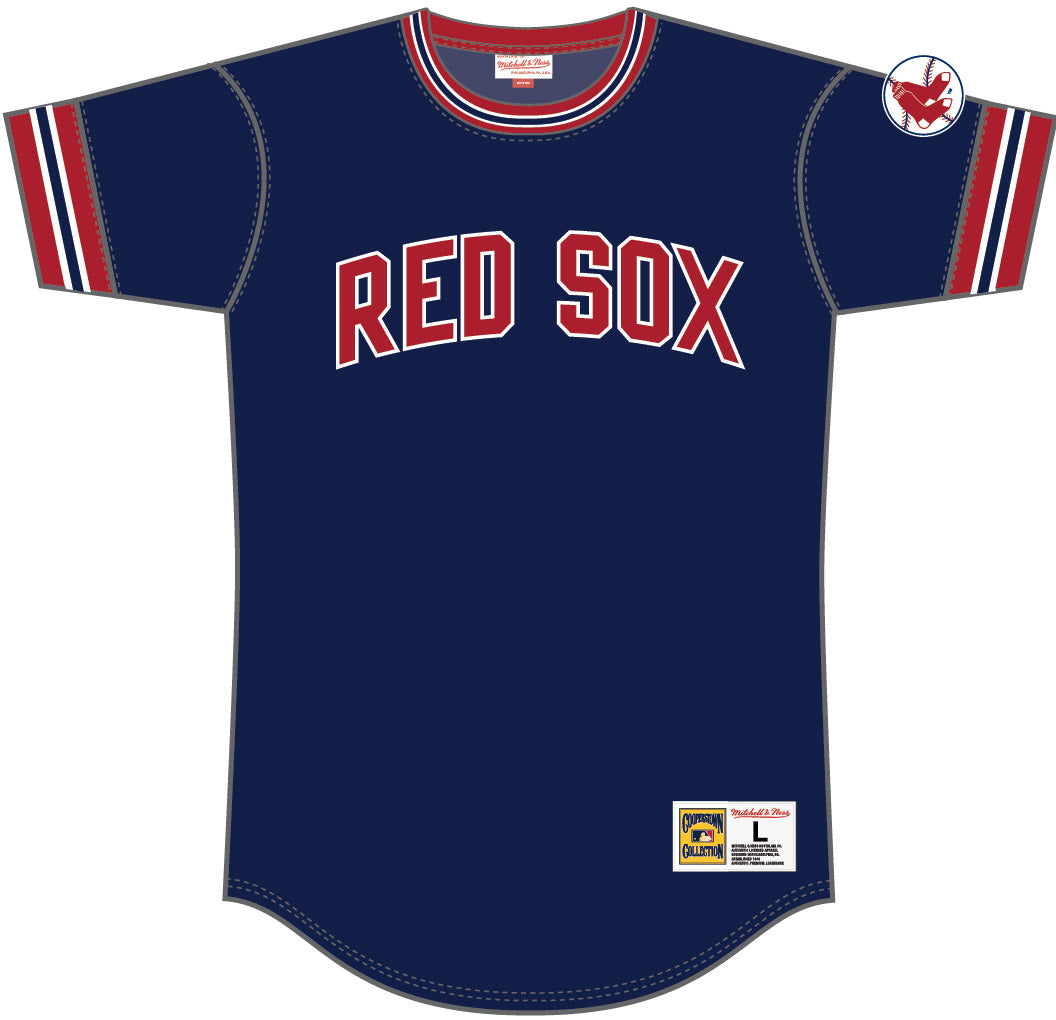 Boston Red Sox Top For Boys - Sports Best Cotton T-shirts