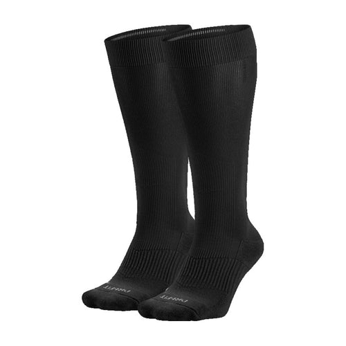Nike Performance Cushion Knee High Baseball Unisex Sock Black (2 Pair)