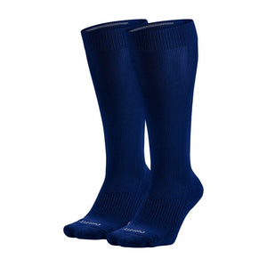Nike Performance Cushion Knee High Baseball Unisex Sock Navy (2 Pair)