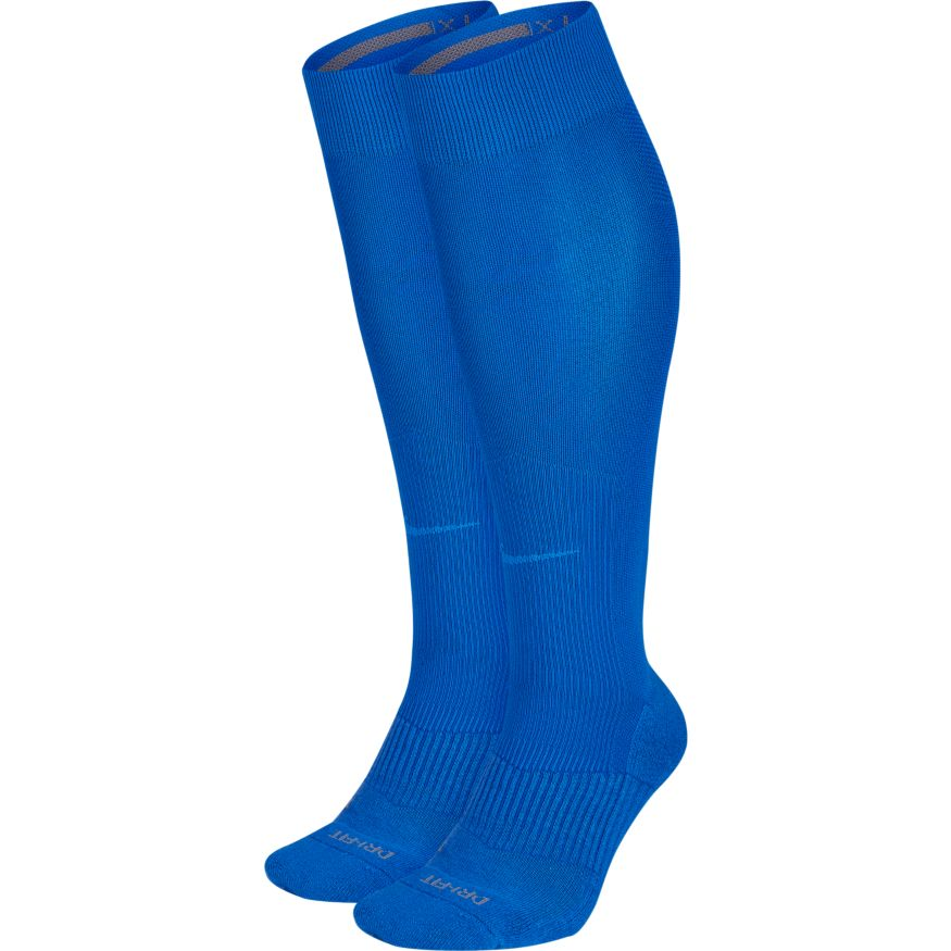 Nike Performance Cushion Knee High Baseball Unisex Sock Royal (2 Pair)