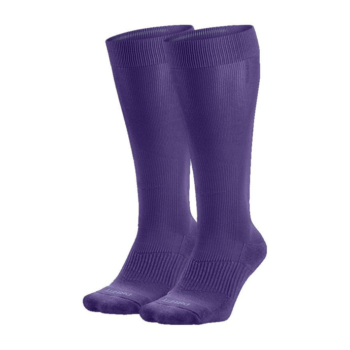 Nike Performance Cushion Knee High Baseball Unisex Sock Purple (2 Pair)