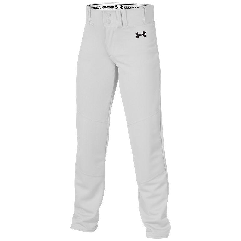 UA Next Youth Open Bottom Solid Baseball Pant.