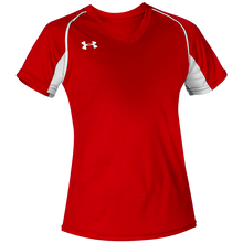 Load image into Gallery viewer, UA Next Women's V-neck Softball Jersey.