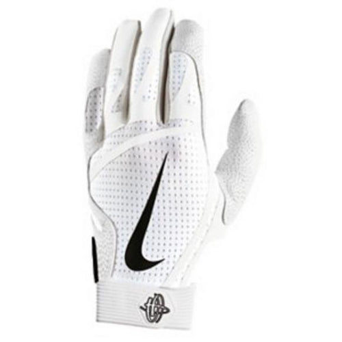 Nike Hurache Pro Adult Batting Gloves White/Black