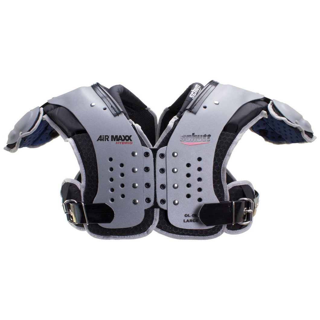 AIR MAXX HYBRID OL/DL FOOTBALL SHOULDER PADS.