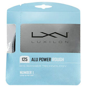 Luxilon Alu Power 125 Rough Tennis String us 16L (1.25mm)