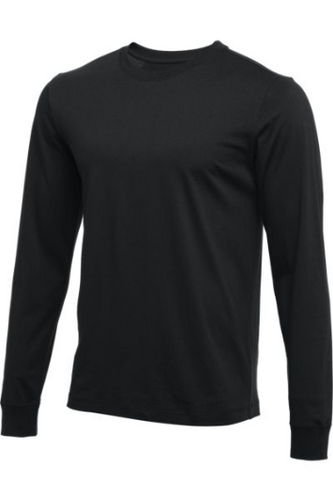 MEN'S NIKE CORE LONG SLEEVE COTTON CREW