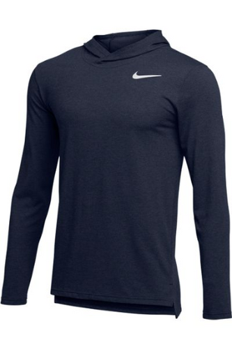 MEN'S NIKE HYPER DRY LONG SLEEVE HOODED BREATHE TOP