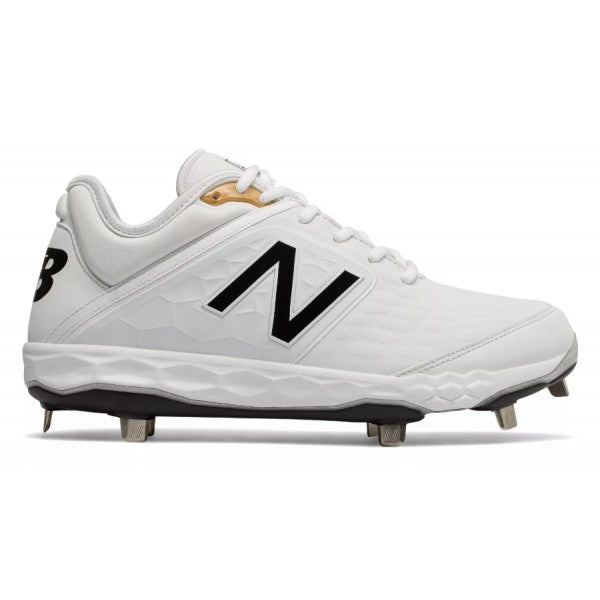New Balance - White/Black Low-Cut