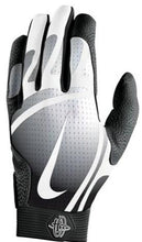 Load image into Gallery viewer, Nike Hurache Pro Adult Batting Gloves Black/White