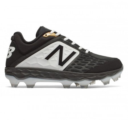 New Balance Fresh Foam 3000 V4 TPU Black Molded Cleats