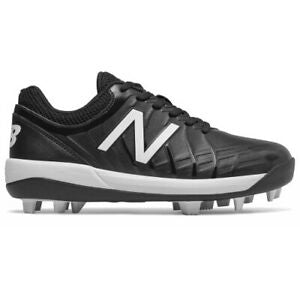 New Balance Kids' 4040 v5 RM Black Baseball Cleats