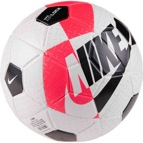 Nike Airlock Street X Soccer Ball – White/Bright Crimson/Black