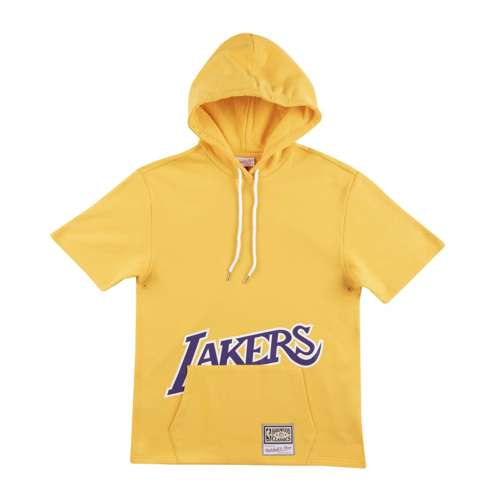 Los Angeles Lakers French Terry Pullover Hoodie.