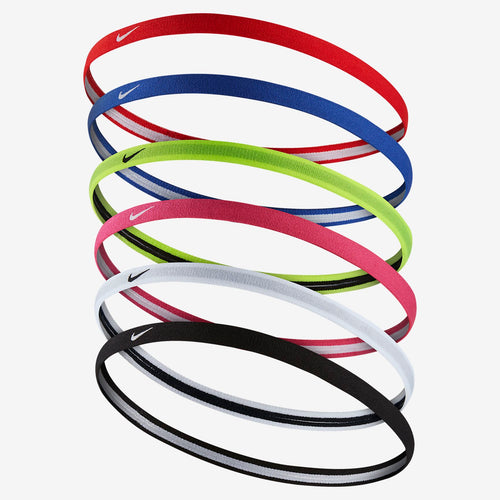 Nike Jacquard Hairbands 6 pack