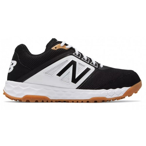 Men's Baseball Black/White Shoes - Best Sport Footwear