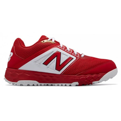 New Balance 3000 V4 Red Baseball Turf Shoe