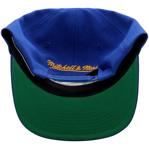 Golden State Warriors Mitchell & Ness Current Logo Wool Solid Snapback Adjustable Hat.