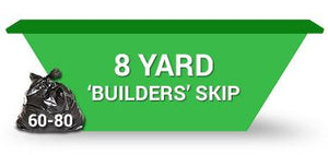 8 Yard Skip Order Online Save 5% Up to 2 Weeks Hire Any BH Postcode