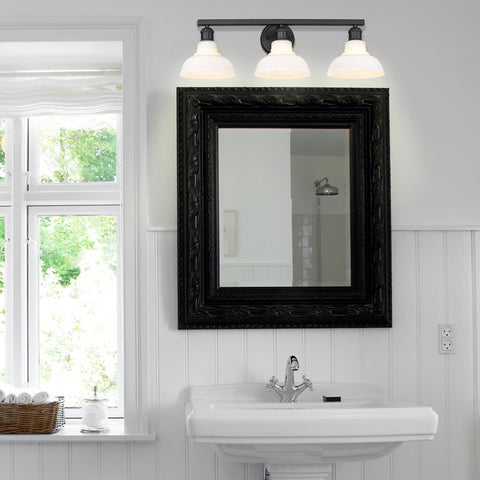 Carver 3 Light Bath Vanity