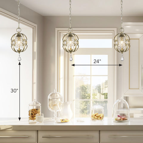 Measurement Guidelines for Hanging Pendant Lighting over Kitchen Island