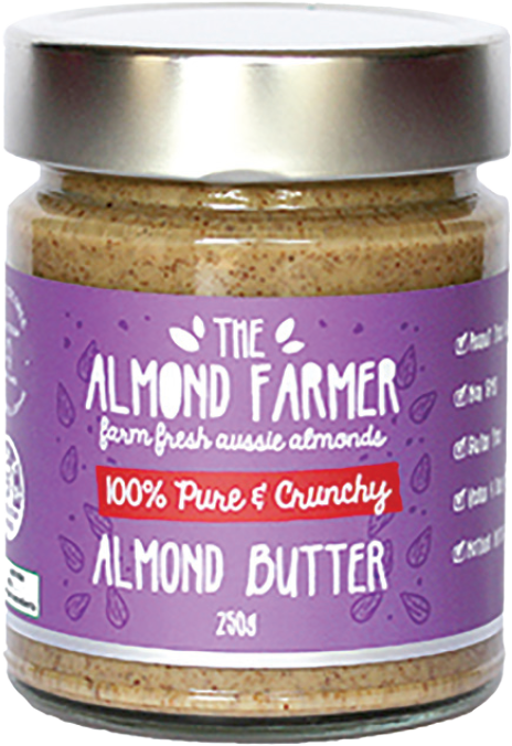 100% Pure Crunchy Almond Butter