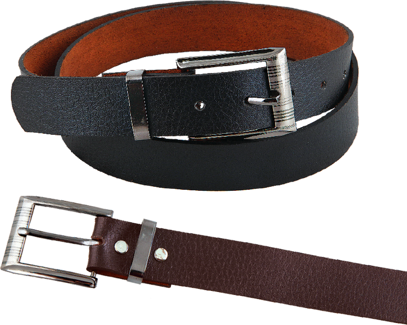 Gents Leather-Look Belt