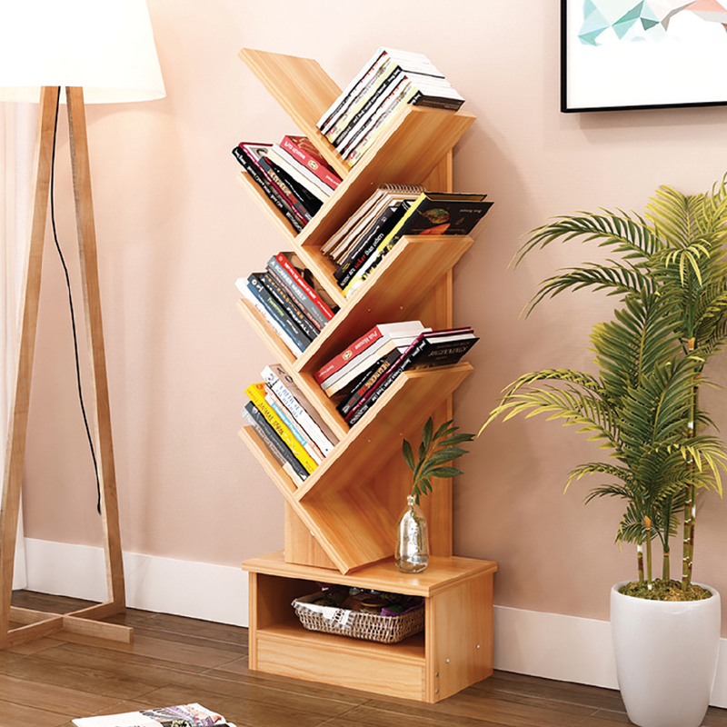 NATURAL 7-Tier Bookcase
