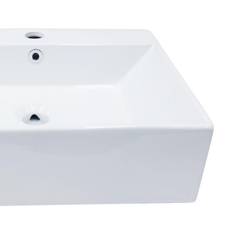 Ceramic Basin Bathroom Wash Counter Top Hand Wash Bowl Sink Vanity Above Basins