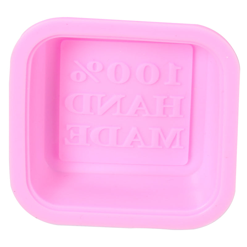 Soap Moulds Silicone 3D Shaped Mold DIY Handmade Tools Square 25Pcs