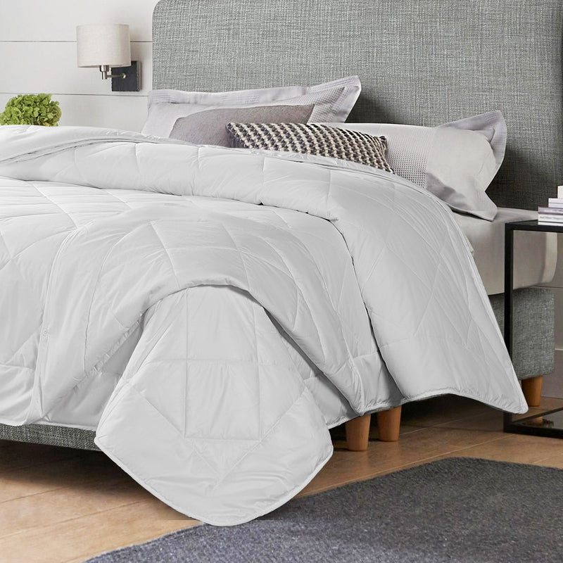 DreamZ 100% Wool Quilt 2-Piece 400/600GSM Doona Duvet Winter Summer Surper King
