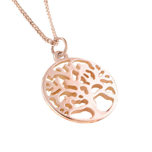 TREE OF LIFE PENDANT + FREE SURPRISE EARRINGS