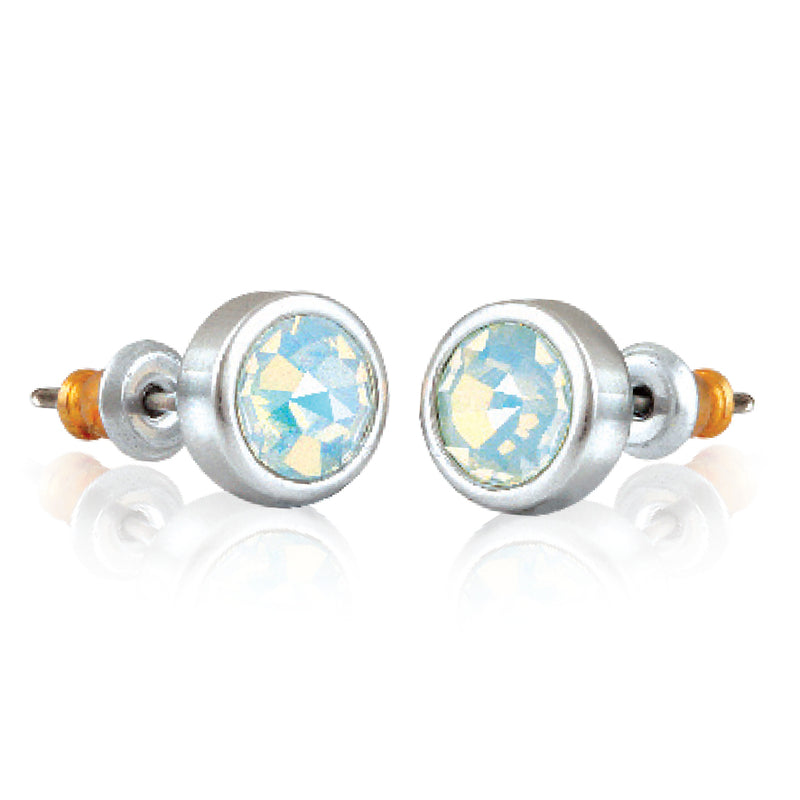 SWAROVSKI® ELEMENTS MOONSTONE STUDS