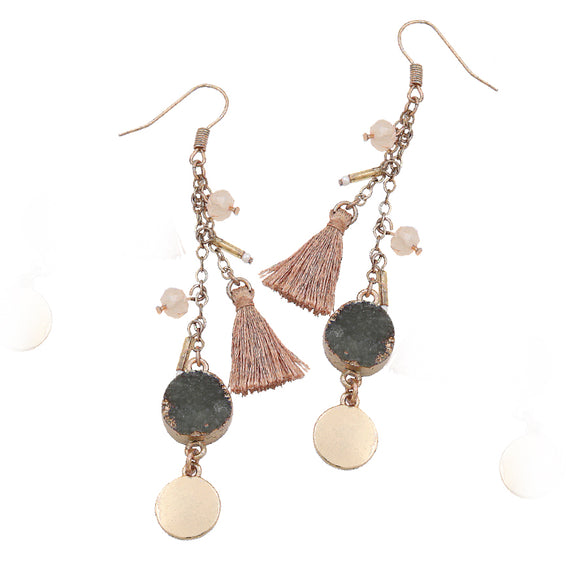 tyler antiqued drop earrings