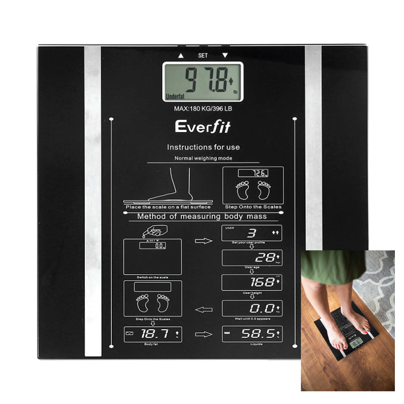 DIGITAL BODY FAT BATHROOM SCALES