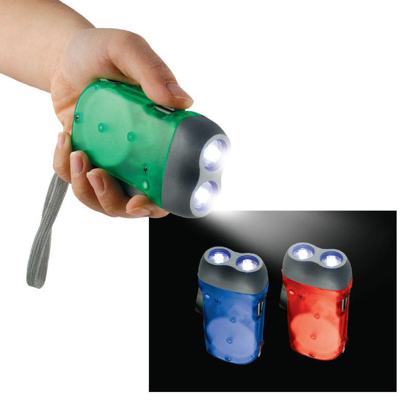 SET OF 2 NO BATTERIES TORCHES