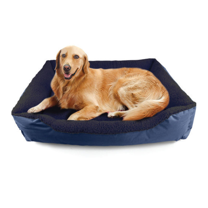 BLUE X LARGE 46CM X 38CM PET BED