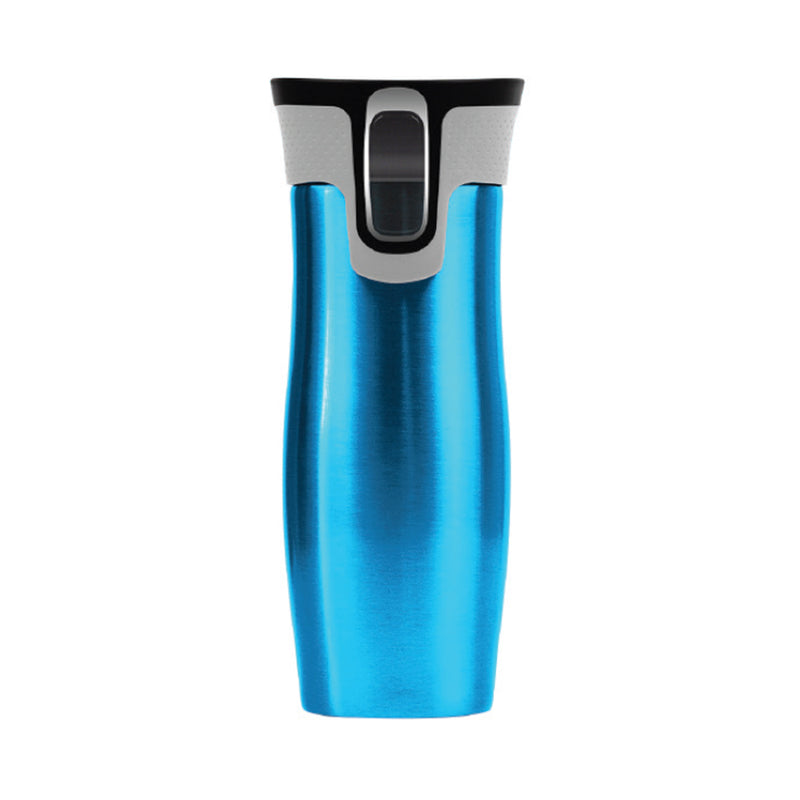 DELUXE INSULATED BLUE TRAVEL MUG