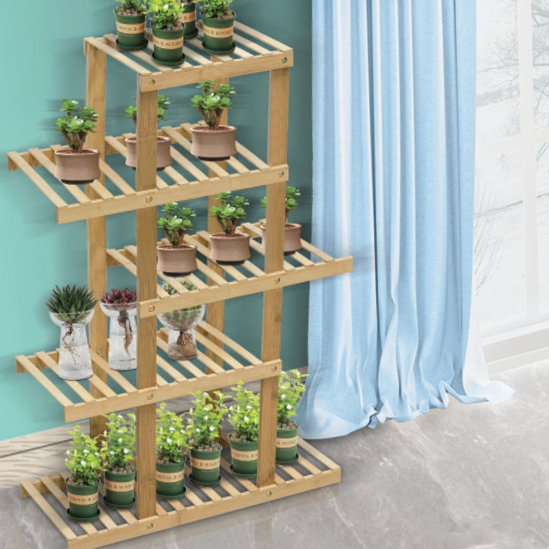 5 TIER BAMBOO SHELVING