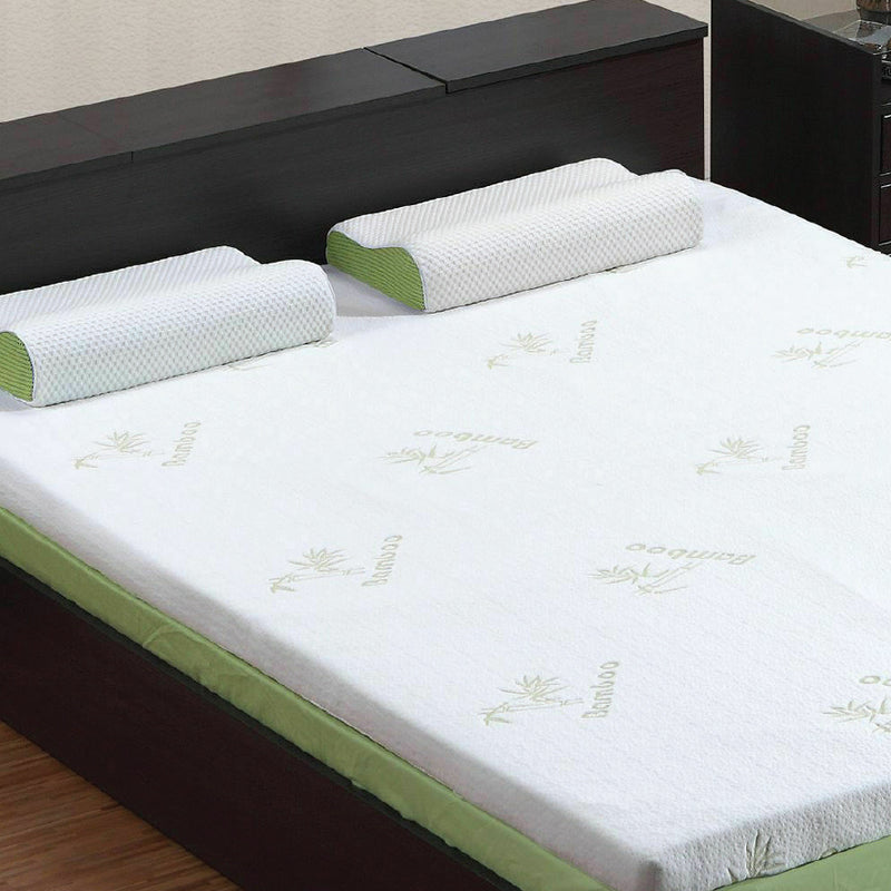 8CM MEMORY FOAM MATTRESS TOPPER