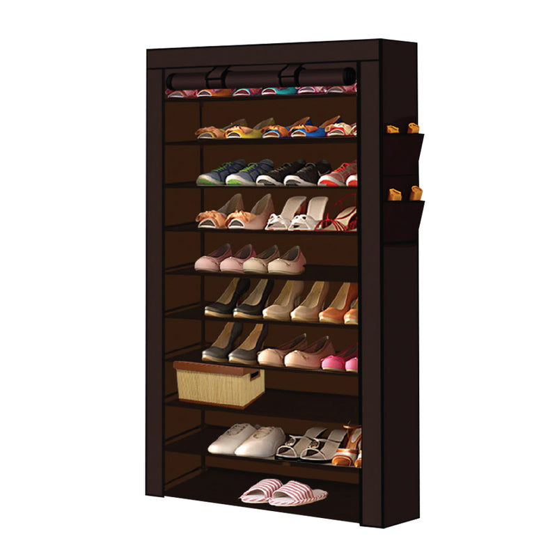 BROWN SHOE ORGANISER