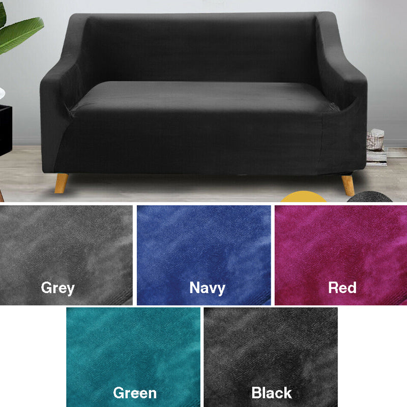BLACK 2 SEATER STRETCH COVER